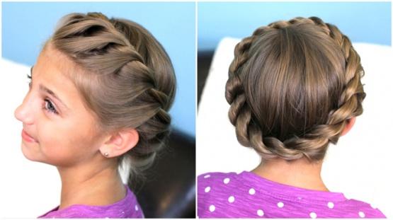 фото причёски для девочек косички
